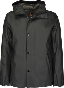 Czarny płaszcz męski Rrd
