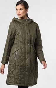 Zielony płaszcz comma, w stylu casual