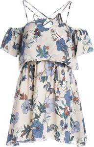 Sukienka Multu z krótkim rękawem mini w stylu casual