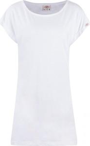 Bluzka Lee Cooper w stylu casual z krótkim rękawem z dżerseju