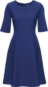 Sukienka bonprix BODYFLIRT w stylu klasycznym z krótkim rękawem do pracy