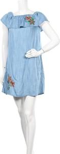Sukienka Mavi oversize z krótkim rękawem