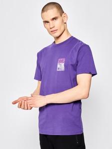 Fioletowy t-shirt Vans