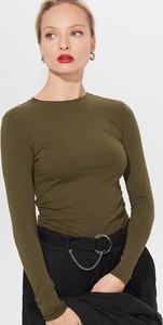 Bluzka Mohito z okrągłym dekoltem z bawełny