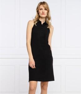 Sukienka Armani Exchange mini z dekoltem w kształcie litery v