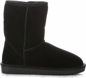 Śniegowce Crystal Shoes z płaską podeszwą