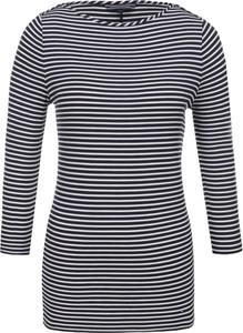 Czarna bluzka Tommy Hilfiger w stylu casual z tkaniny