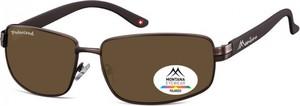 Stylion Meskie klasyczne okulary Montana MP103B polaryzacyjne
