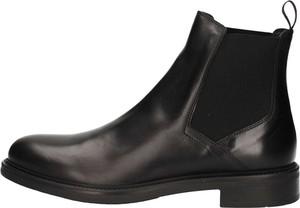Czarne buty zimowe Triver Flight
