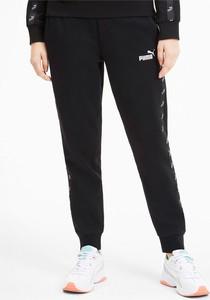 Spodnie sportowe Puma z dresówki w sportowym stylu