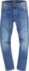 Niebieskie jeansy Camel Active w stylu casual z jeansu