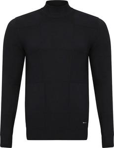 Czarny sweter Giorgio Di Mare w stylu casual