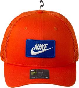 Pomarańczowa czapka Nike