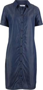Sukienka bonprix John Baner JEANSWEAR w stylu casual z krótkim rękawem z tkaniny