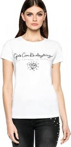 T-shirt L'AF z okrągłym dekoltem