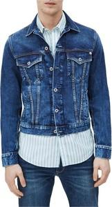 Niebieska kurtka Pepe Jeans krótka