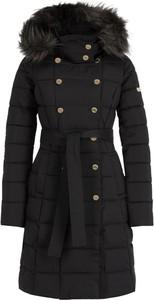 Czarny płaszcz Marciano