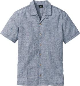 Koszula bonprix bpc bonprix collection w stylu casual z krótkim rękawem