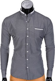 Szara koszula ombre clothing