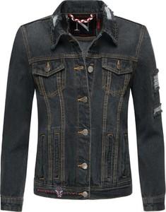Czarna kurtka Navahoo krótka z jeansu