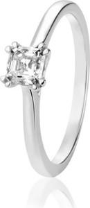 W.KRUK Pierścionek zaręczynowy złoty Królewski ZCG/PB+842B