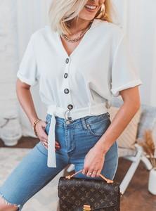 Bluzka SELFIEROOM w stylu casual