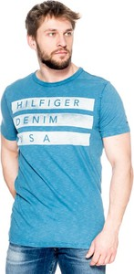 T-shirt Hilfiger Denim z krótkim rękawem