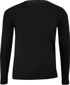 Czarny sweter Just yuppi z bawełny w stylu casual