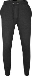 Czarne spodnie sportowe Brave Soul z tkaniny