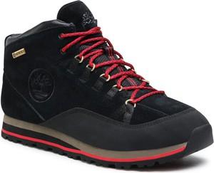 Czarne buty trekkingowe Timberland z goretexu