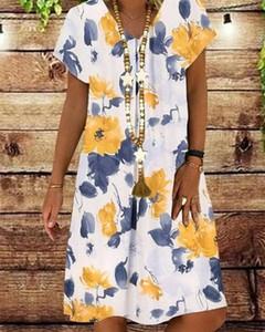 Sukienka Kendallme z bawełny w stylu casual mini