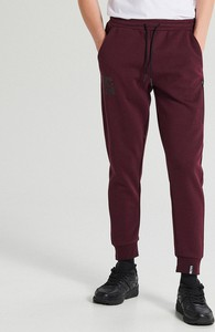 Spodnie sportowe Cropp z nadrukiem z dresówki