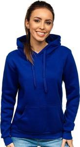 Niebieska bluza Denley z bawełny