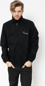 Czarna kurtka Volcom w stylu casual z bawełny
