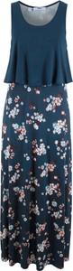 Granatowa sukienka bonprix bpc bonprix collection