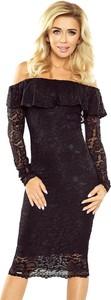 Sukienka MORIMIA z długim rękawem hiszpanka midi