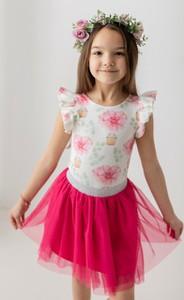 Bluzka dziecięca Myprincess / Lily Grey w kwiatki
