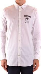 Koszula Moschino z długim rękawem z bawełny