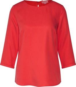 Czerwona bluzka ARMEDANGELS z długim rękawem