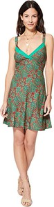 Zielona sukienka Ipanima mini na ramiączkach