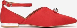 Czerwone półbuty Multu