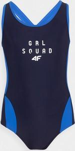 Granatowy strój kąpielowy 4F