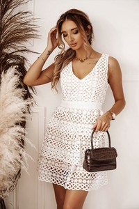 Sukienka Shopaholics Dream mini na ramiączkach