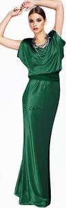Sukienka Camill Fashion z dekoltem woda dla puszystych