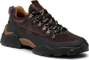 Buty sportowe Voile Blanche sznurowane
