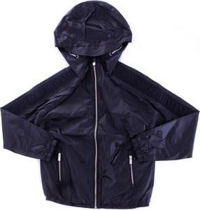 Granatowa kurtka dziecięca Emporio Armani dla chłopców