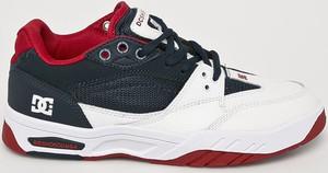 Buty sportowe DC Shoes ze skóry sznurowane