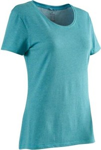 Niebieski t-shirt Domyos
