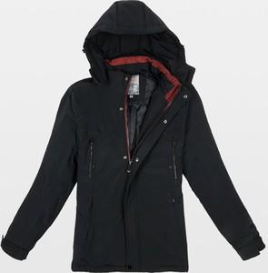 Czarna kurtka Gemre w stylu casual