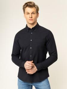 Czarna koszula Calvin Klein z długim rękawem